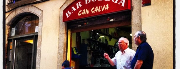 Bodega Can Salva is one of Patatas Bravas de Barcelona.