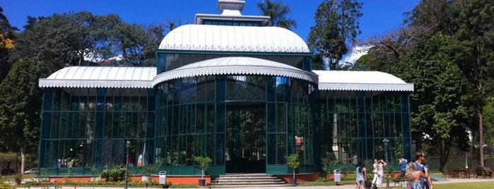 Palácio de Cristal is one of Petrópolis RJ.