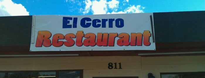 El Cerro Restaurant is one of Orland.