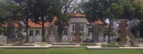Lapangan Jetayu is one of Pekalongan World of Batik.