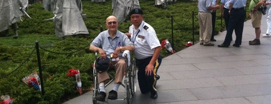 Korean War Veterans Memorial is one of My favorites for Museums.