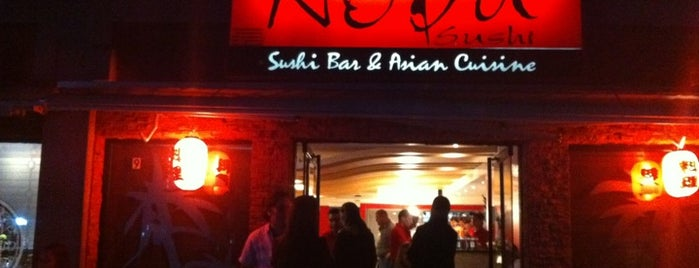 Nobu Sushi is one of Favorite Sushi Bars.