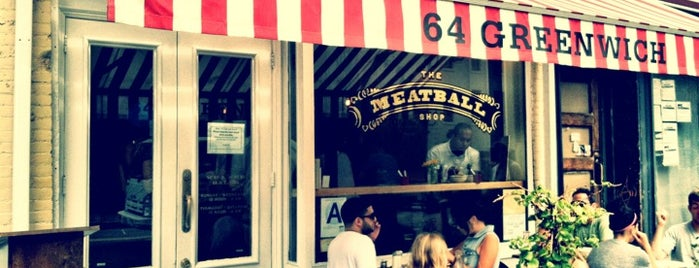 The Meatball Shop is one of The New Yorkers: Ladies Who Lunch.