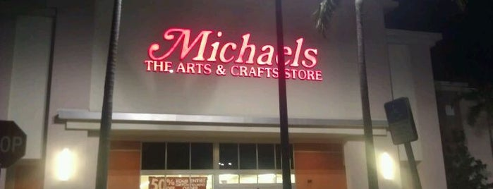 Michaels is one of shopaholic.
