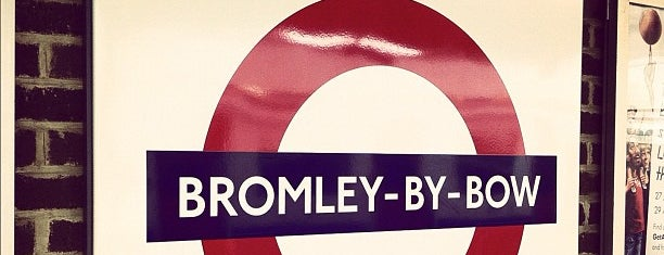 Bromley-By-Bow London Underground Station is one of District Line.