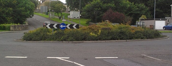 Newlands Rd. R'bt is one of Named Roundabouts in Central Scotland.