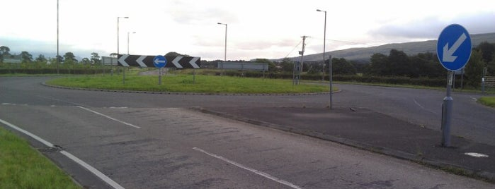 Kippen Station R'bt is one of Named Roundabouts in Central Scotland.