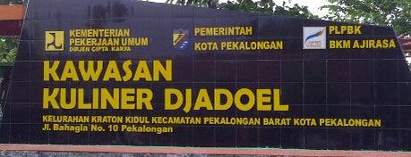 Kawasan Kuliner Djadoel is one of Pekalongan World of Batik.
