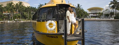 Water Taxi - Stop #10 is one of Must Do for First Timers #VisitUS.