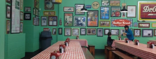 Kincaid's Hamburgers is one of places.