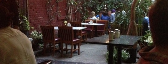 The Cloister Cafe is one of East village restaurants.
