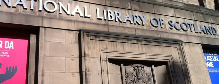 National Library of Scotland is one of Edinburgh.