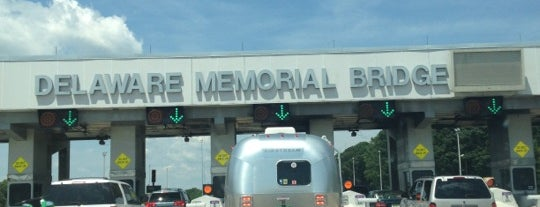 Delaware Memorial Bridge Toll Plaza is one of Highways.