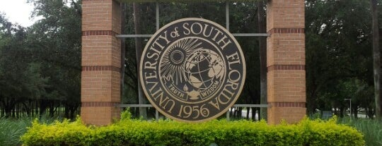 University of South Florida is one of Tampa Attractions.