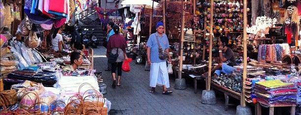 Pasar Seni Ubud (Ubud Art Market) is one of Bali.