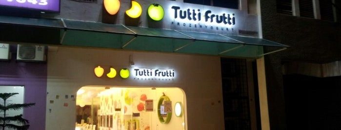 Tutti Frutti is one of Like & 95% confident interval satisfaction~~`_^.