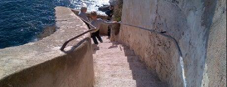 Escaliers du Roy d'Aragon is one of Corsica.