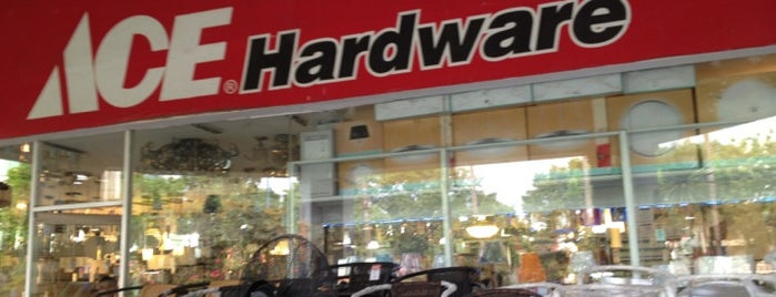 ACE Hardware is one of Explore The Fixer Upper.