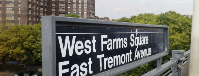 MTA Subway - West Farms Square/E Tremont Av (2/5) is one of MTA Subway - 2 Line.