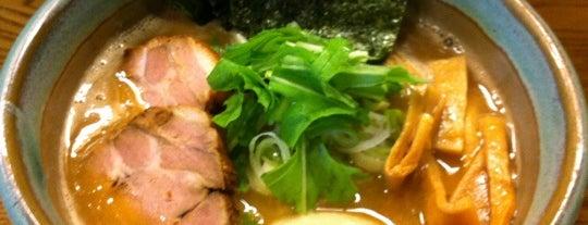 麺処 三鈷峰 is one of 再来してもよいラーメン店.