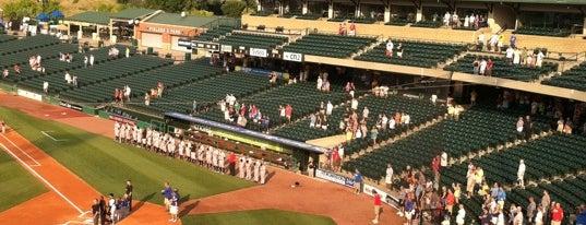 Louisville Slugger Field is one of Top 10 favorites places in Louisville, KY.