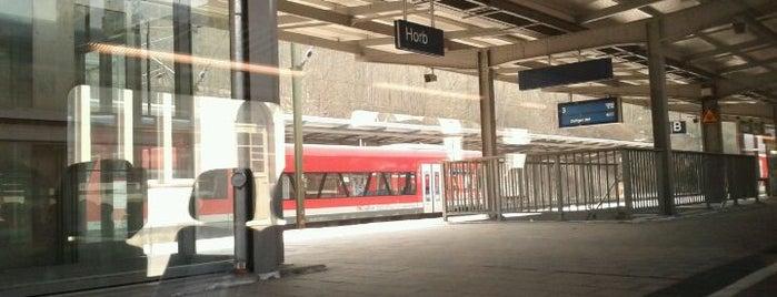 Bahnhof Horb is one of DB ICE-Bahnhöfe.