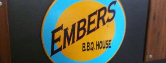 Embers BBQ House is one of Favorite Restaurants.