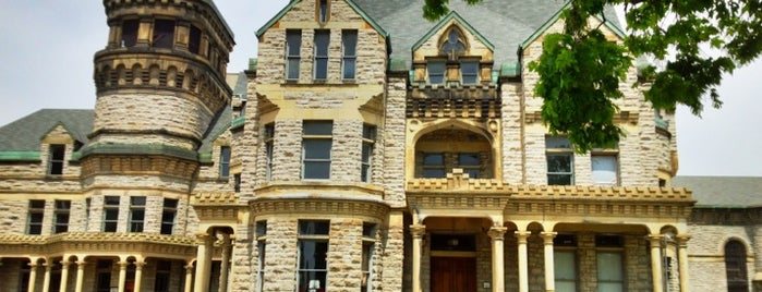 Ohio State Reformatory is one of Paranormal Traveler.
