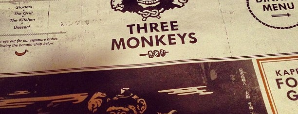 Three Monkeys is one of HK: Japanese, Other.