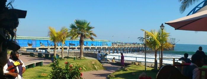 Malecon El Puerto de La Libertad is one of mar.