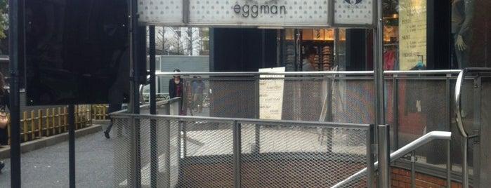 eggman is one of Spielplatz.
