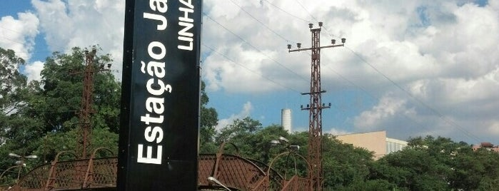 Estação Jaraguá (CPTM) is one of Transporte.