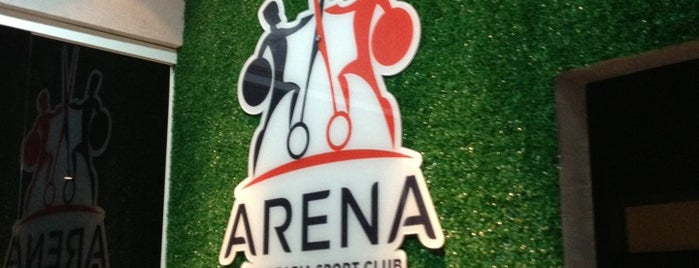 Arena Barbearia Sport Club is one of *****Beta Clube*****.