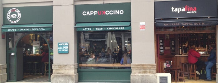 Cappuccino is one of Barcelona.