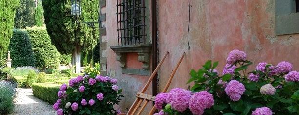 Villa Vignamaggio is one of Chianti Classico Producers.