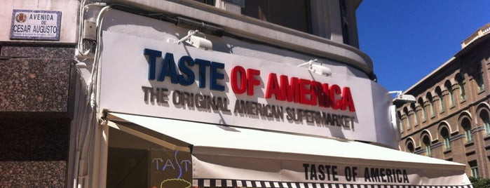 Taste Of America is one of Zaragoza Alternative.