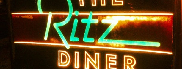The Ritz Diner is one of New Jersey Diner's, Drive-ins and Dives.