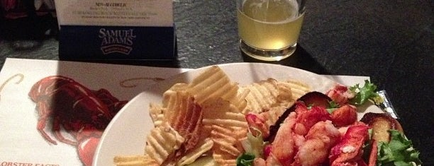 J's Oyster Bar is one of Ultimate Summertime Lobster Rolls.
