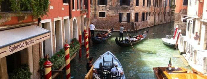 Starhotels Splendid Venice is one of The 15 Best Romantic Places in Venice.