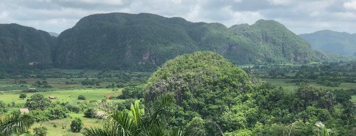 Viñales Valley (UNESCO World Heritage) is one of Kuba.