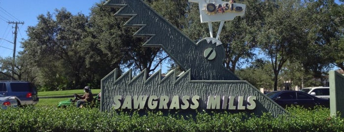 Sawgrass Mills Food Court is one of Peewee's Big Ass South Florida Food Adventure!.