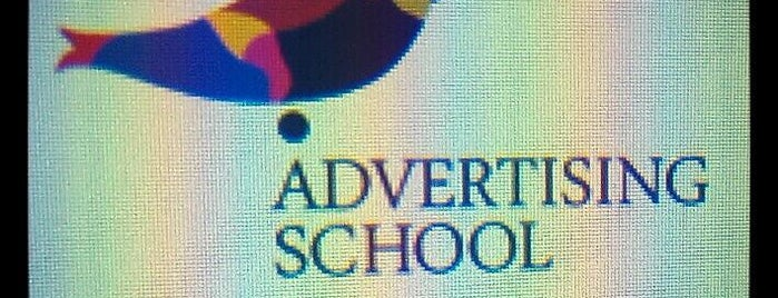 "Advertising school is one of voodoo""s mood)."