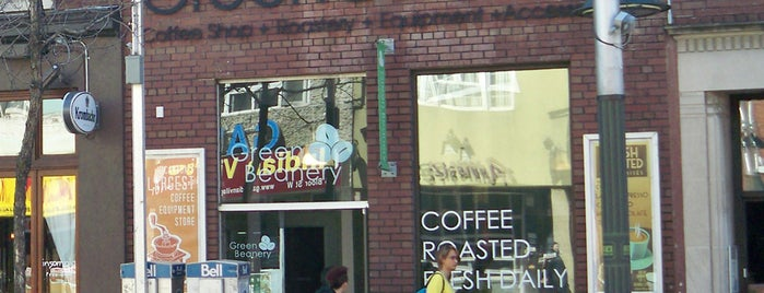 Green Beanery is one of Coffee to Drink in North America (E).