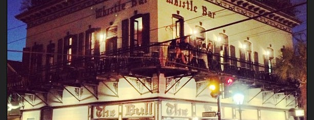 The Bull & Whistle Bar is one of The 15 Best Places for People Watching in Key West.