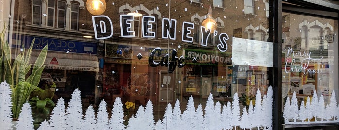 Deeney's is one of east east london.