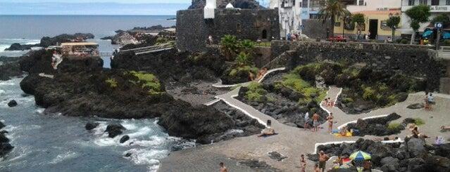 Garachico is one of Islas Canarias: Tenerife.