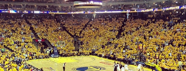 Oracle Arena is one of My favorites for Stadiums.