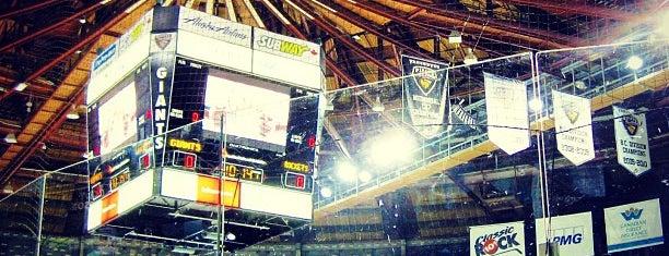 Pacific Coliseum is one of Bristish Columbia.