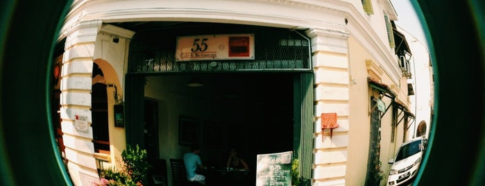 55 Cafe & Restaurant is one of Penang To Eat.