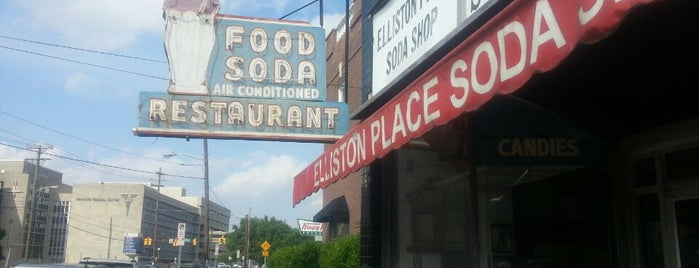 Elliston Place Soda Shop is one of Nashville to-do.